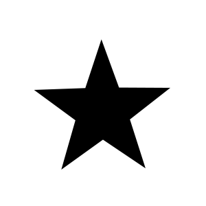 Circle with a black star