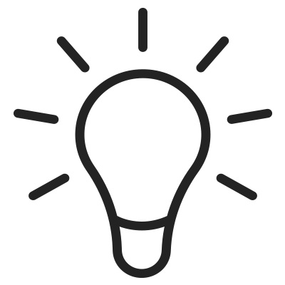 Light bulb image representsLearning Tools