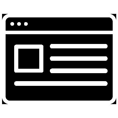 Website image represents Online
