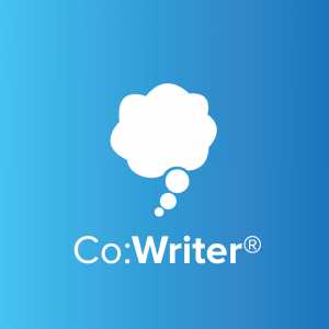 Co:Writer logo blue