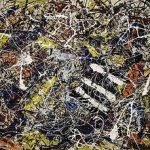 Jackson Pollock Painting number 17a