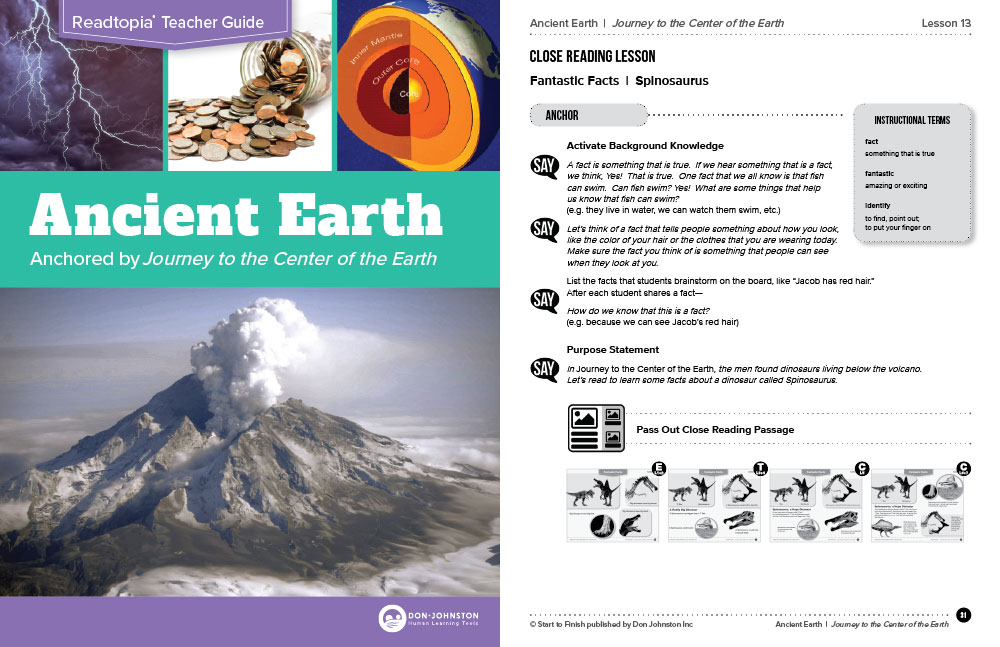 Ancient Earth Thematic Unit Cover