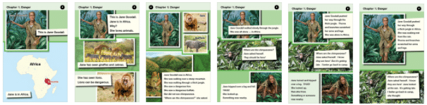 Jane goodall graphic novel example