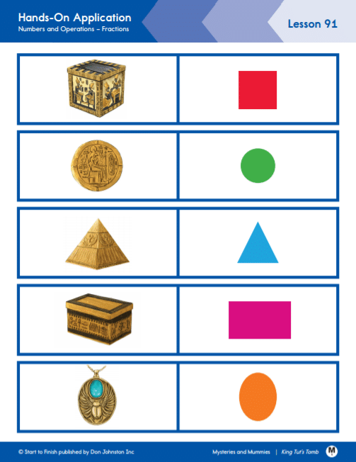 Math lesson readtopia king tut