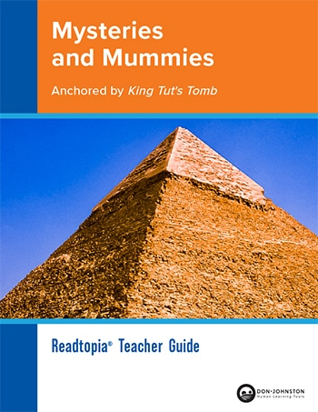 Mysteries and Mummies Teacher Guide Cover